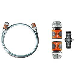 Équipement de Branchement Classic 13 mm (1/2″), 1,5 M de Gardena: Adaptateur de Tuyau & Nécessaires d'Arrosage de Gardena: Raccords pour Extension de Tuyau 13 mm (1/2″) et 15 mm (5/8″)