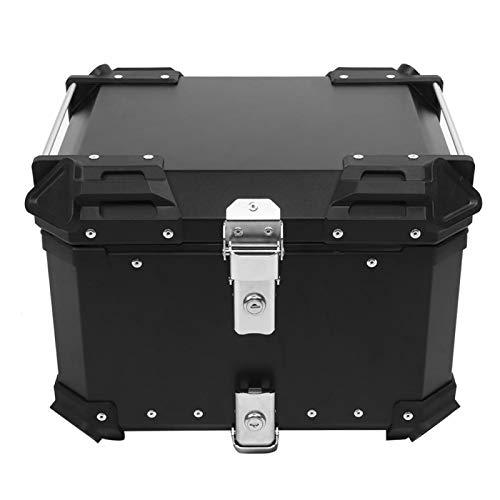 Caja trasera para equipaje a prueba de agua para viajes de larga distancia para ocultar los viejos arañazos(black)