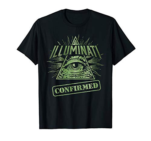 Illuminati Confirmed, All Seeing Eye, Providence, Dank Meme T-Shirt
