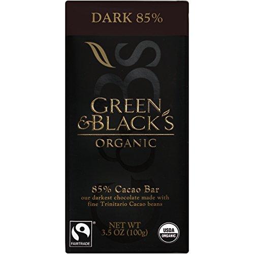 Green & Black's, Dark Chocolate Bar, 85% Cacao, Organic, 3.5 oz