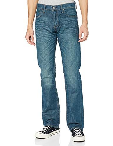 Levi's 527 Slim Boot Cut Vaqueros Corte de Bota, Last Mid Blue, 29W / 32L para Hombre