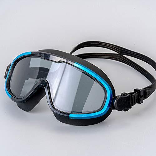 GUOGUODA Anti-vaho HD y Anti-UV Sin Fugas Gafas Natacion Gafas de natación Apto para Todo Tipo de Deportes Acuáticos Anti Niebla Protección UV Lentes Totalmente Ajustable