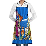XCNGG Delantal de cocina Unisex Bib Apron with Pockets 2020 Dumpster Fire Waterproof Chef Aprons for Cooking,Home Kitchen,Restaurant,BBQ,Painting,Coffee House for Christmas Stocking Stuffer,Thanksgivi