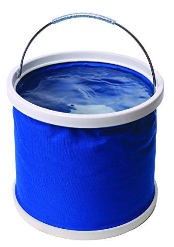 Secchio pieghevole in nylon spesso, colore: Blu