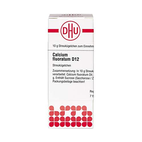 DHU Calcium fluoratum D12 Globuli, 10 g Globuli