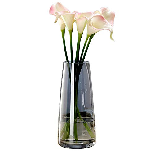Pointed Vase from sisal 2 PC Floral Vase Church Wedding Bank Hanging Vase 40 cm