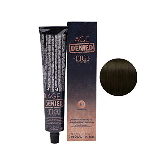 TIGI Age Denied Haarfarbe, 44/ Intense Neutral Brown, 90 ml