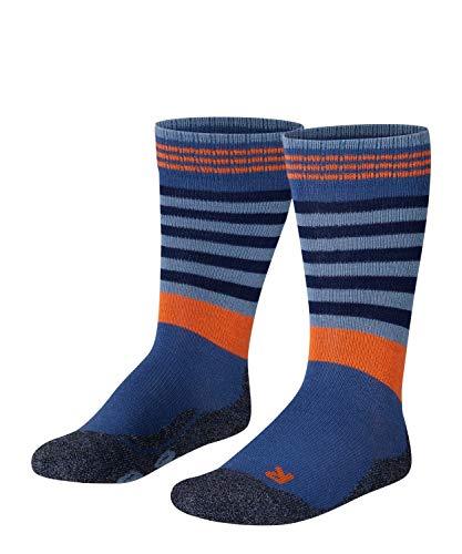 FALKE Frog Kinder Socken bluestone (6067) 19-22 mit weicher Plüschsohle