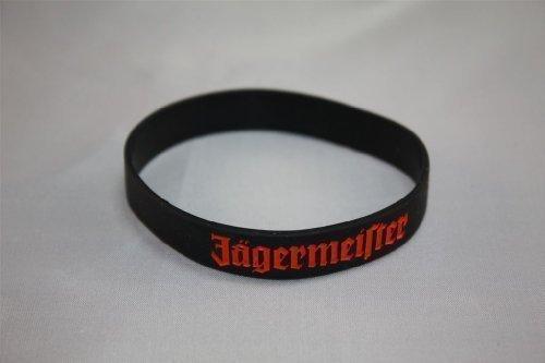 8 X Bracciale Amicizia Jägermeister Set! Braccialetto Silicone