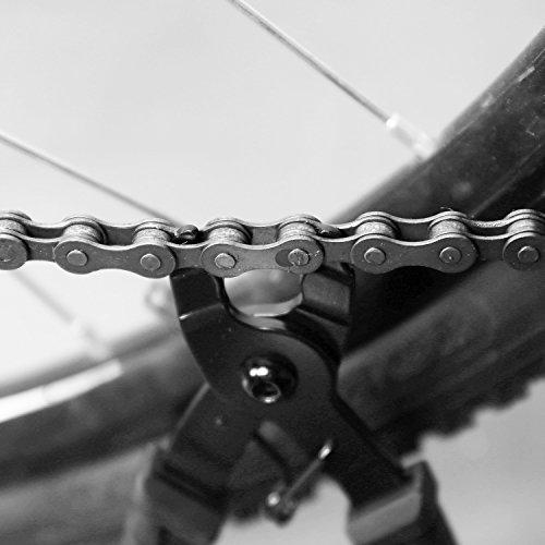 Oumers Fahrrad Link Zange+Fahrrad Ketten Werkzeug+Ketten Prüfer Fahrrad Reparatur Werkzeug Set - 5