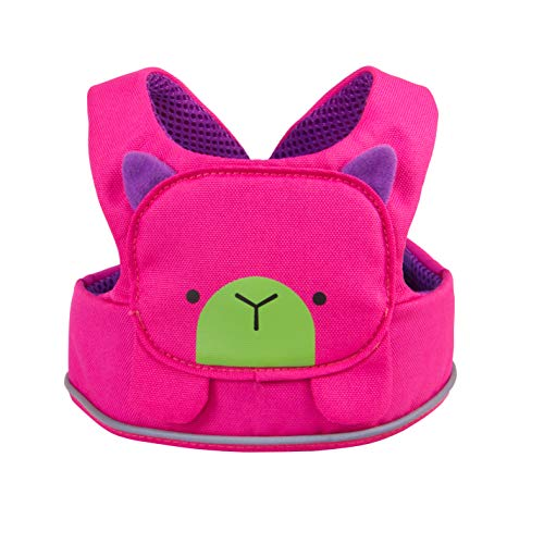 Trunki ToddlePak - Fuss Free Toddler Reins & Children's Safety Harness - Adapts from a Baby Walking Harness to Leash for Kids - Betsy (Pink) Pink Betsy ,35 cm
