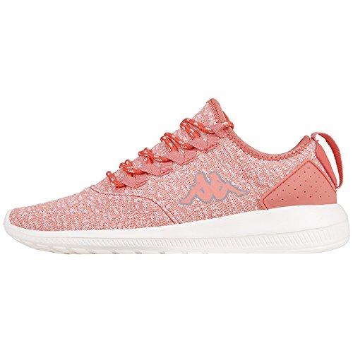 Kappa Damskie buty typu sneakers, różowy - różowy 2143 różowy L Grey - 39 eu
