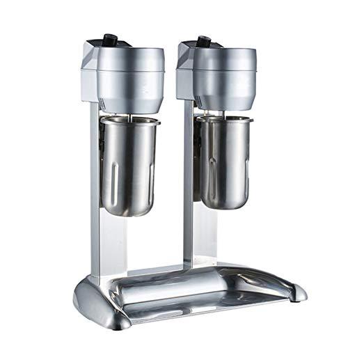 Professionelle Milkshake-Maschinen-Hersteller Double Head 3-Speed Drink Mixer, Edelstahl Blender Getränk...