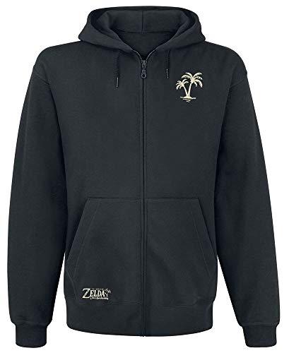 Zelda – Despertador izquierdo – Zipper | Merchandise oficial Negro M
