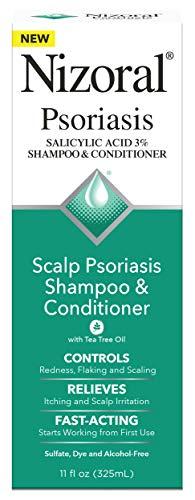 Nizoral Psoriasis Shampoo and Conditioner 11 Fl Oz, Scalp Psoriasis 2-in-1 Shampoo and Conditioner