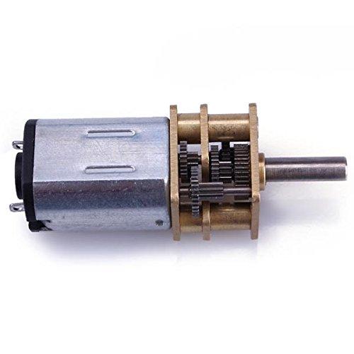 N20 DC Gear Motor Miniature High Torque Electric Gear Box Motor (Rotate Speed 56RPM)