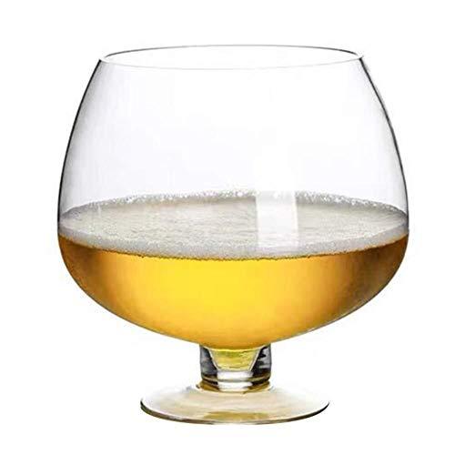 Copa de Vino Gigante Ampliación de las copas de vino Vino tinto partido de la barra del club de cristal for Bar con whisky escocés de cóctel de cerveza tazas de jugo de regalo de Navidad Cumpleaños