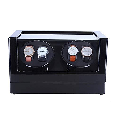 Yuefensu Enrollador de Reloj eléctrico El Reloj mecánico Winder con 5 Modos...