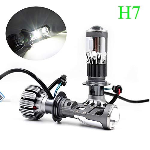 ALOPEE - Bombillas de faro LED H7 Extremadamente Brillantes Haz...