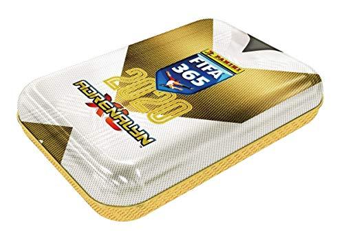 Panini 000856 Adrenalyn XL Sammelkarten FIFA 365, Saison 2019/2020, Mini Tin Dose mit 4 limitierten, 6 Karten je Booster, bunt