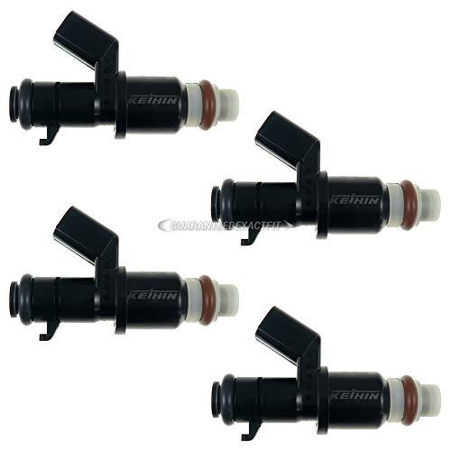 For Honda Crosstour CR-V Fuel Injector Set - BuyAutoParts 35-81459I4 Remanufactured