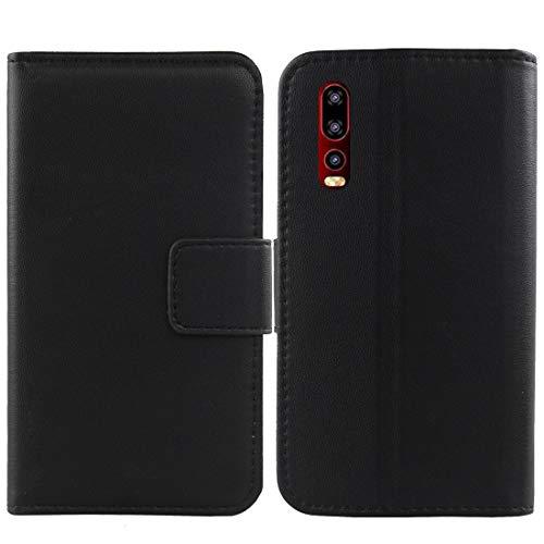 Lankashi Flip Echt Leder Tasche Für Elephone U2 6.26