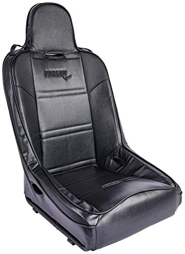 ProCar by Scat 80-1620-51 Black Vinyl Racing Terrain Fixed Back Common Seat