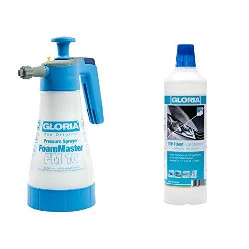 GLORIA FoamMaster FM 10, Universal-Schaumerzeuger + Top Foam Auto-Shampoo