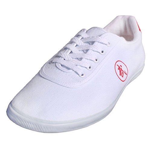 Andux Unisex Kung Fu Tai Chi Schuhe Old Beijing Cloth Shoes TJX-01 Weiß 39 EU (Etikett: 40)