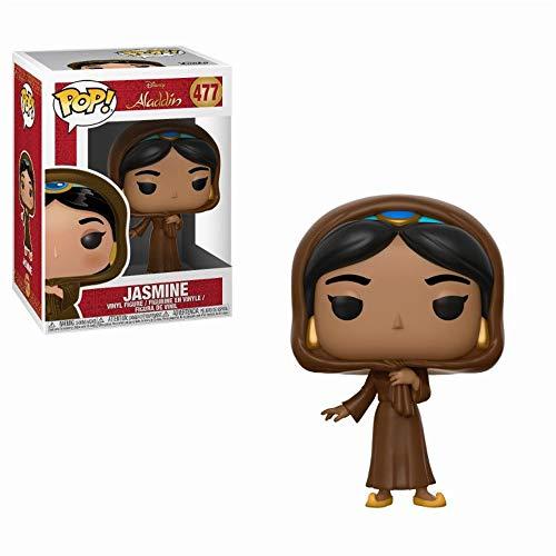 Funko- Pop Vinyl: Disney: Aladdin: Jasmine in Disguise w/Chase Figura de vinilo Iago, Multicolor, talla unica (35754) , color/modelo surtido