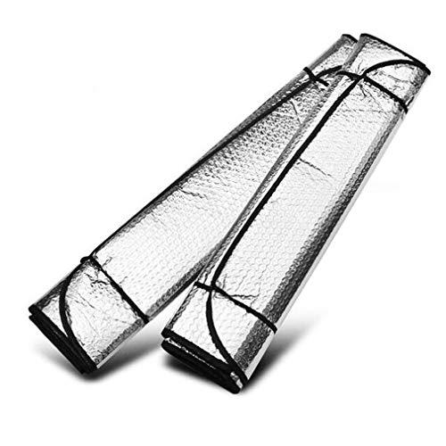 MCPPP Cubierta De Paraguas De Parabrisas De Automóviles, Cubierta Plegable Casual Delantero Sol Trasero Reflectante Sombra De Sombra Coche Bloque De Protección Solar Parasol