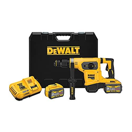 DEWALT FLEXVOLT 60V MAX Rotary Hammer/Drill Combination Kit, 1-9/16-Inch (DCH481X2)