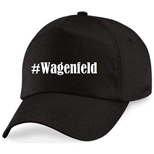 Reifen-Markt Base Cap Hashtag #Wagenfeld Größe Uni Farbe Schwarz Druck Weiss