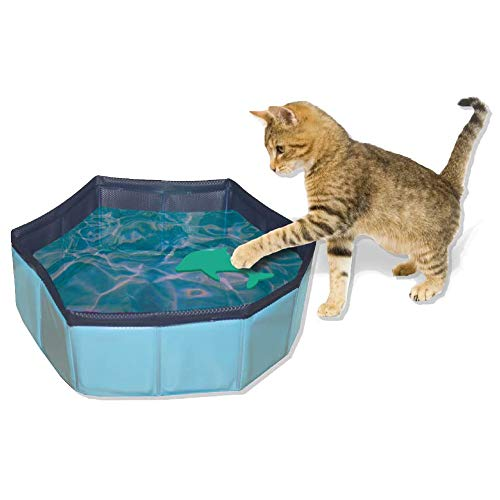 Zoo Med Croci Pool Spielzeug für Katzen, 30x 10cm