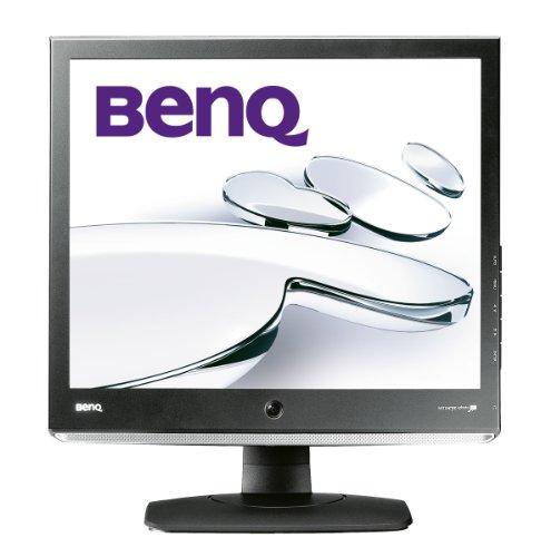BenQ E910 48,3 cm (19 Zoll) SXGA TFT Monitor VGA, DVI-D, Audio (Kontrastverhältnis 800:1, Reaktionszeit 5ms) schwarz/Silber