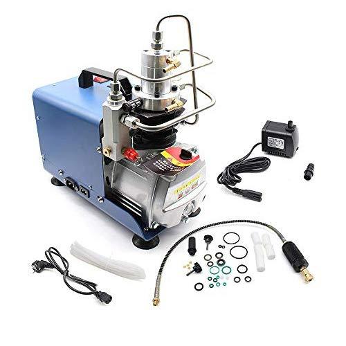 Bomba de aire de alta presión 30 m 300 bar, 4500 psi Compresor de aire eléctrico de alta presión PCP Alta Presión Sistema Rifle