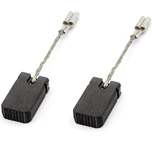 Kohlebürsten Kohlen für Bosch 6x10x17mm GWS 11-125 P/GWS 12-125 CIX/GWS 12-125 / GWS 12-125 CI/GWS 12-125 CIP/GWS 12-125 CIPX mit Abschaltautomatik 1607000V37