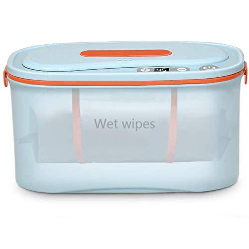 Calentador de toallitas húmedas y dispensador, calentador de toallitas portátiles para el hogar, incluso calentamiento, calor perfecto para bebés y mujeres