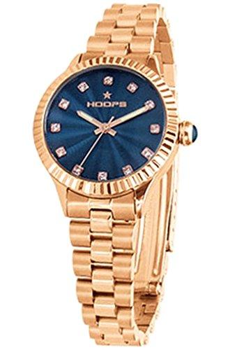 Orologio Donna Luxury Diamonds Rose Gold Blu 2569LD-RG05 - Hoops