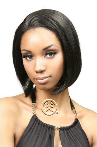 Motown Tress Lace Front Human Hair Wig Abby Color: 4F27
