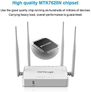 Wifi booster, Wifi Extender Booster 300Mbps/2.4GHz Wifi Range Repeater 2 External Antennas for Better Reception and Faster Internet Surfing original firmware Alysays (Color : 4G omni Version)