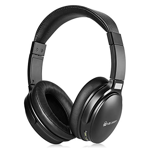 JXILY Auriculares Inalámbricos Bluetooth,Auriculares Estéreo Inalámbricos Estéreo Hi-Fi Plegables,Micrófono Incorporado,Se Pueden Usar para PC/Teléfono Móvil