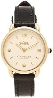 Coach Delancey Slim White Dial Ladies Leather Watch 14502791
