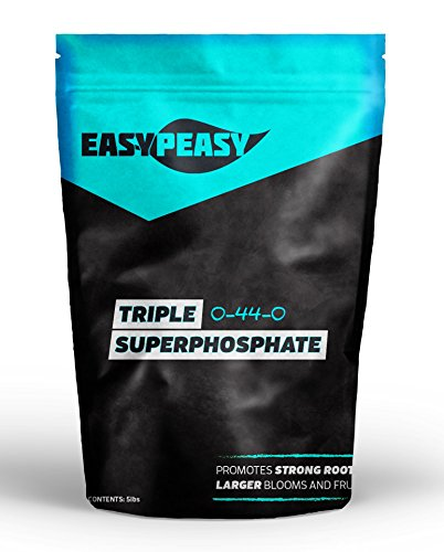 Triple Super Phosphate 0-46-0 Easy Peasy Plants 99% pure (20lb)
