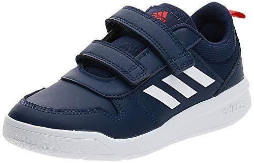 adidas Unisex Kinder Tensaur C Leichtathletik-Schuh, DKBLUE/FTWWHT/ACTRED, 34 EU
