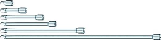 17mm Diameter Size 1.5 Stahlwille 427//1.5 Long Extension Bar 38mm Length 3//8 Drive