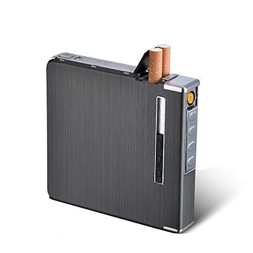 WUYANJUN Nuevo dispensador automático de Caja de Cigarrillos con Encendedor de antorcha Incorporado...