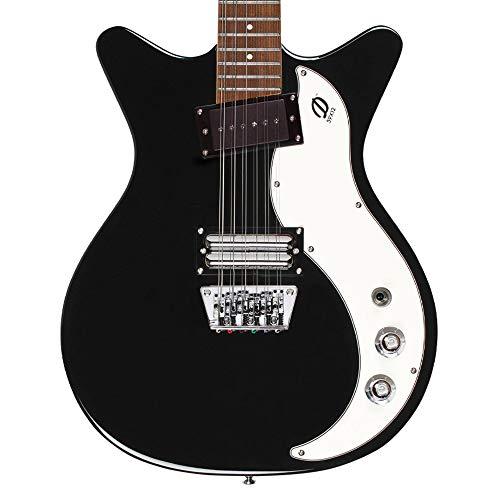 Danelectro 59X12 12-String Electric Guitar (Black)