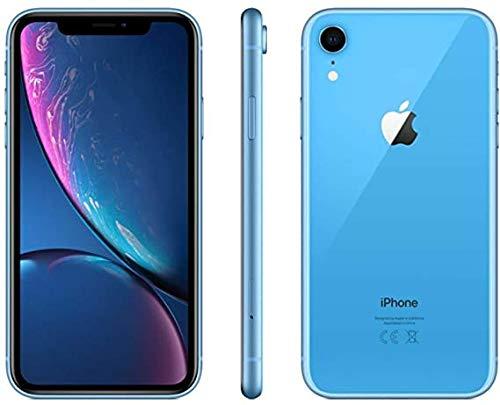 Apple iPhone XR, US Version, 64GB, Blue - Unlocked (Renewed)