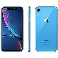(Renewed) Apple iPhone XR, US Version, 64GB, Blue - Unlocked